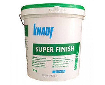 Шпаклевка KNAUF Super Finish (28кг) фото
